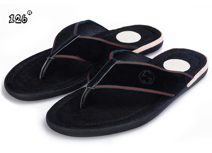 Durable Sheepskin Slippers Men