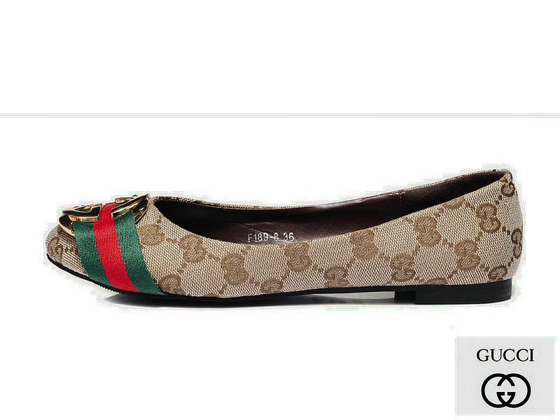 French Footwear Specials 004 Gucci Women Flats F7436d71